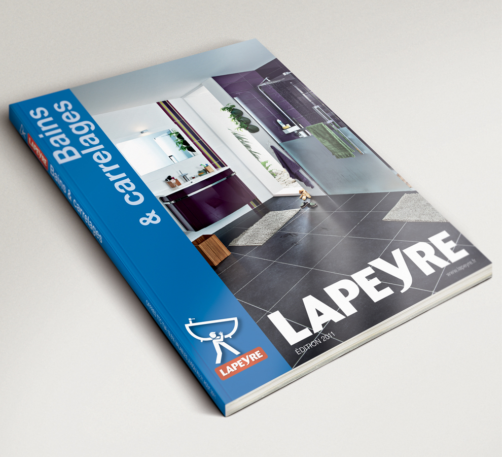 Mathieu leu graphiste freelance catalogue lapeyre - Www heytens be catalogue ...
